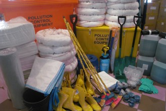 Oil Spill Kit Equipments