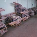 Çarmıh stok - Ladder stock